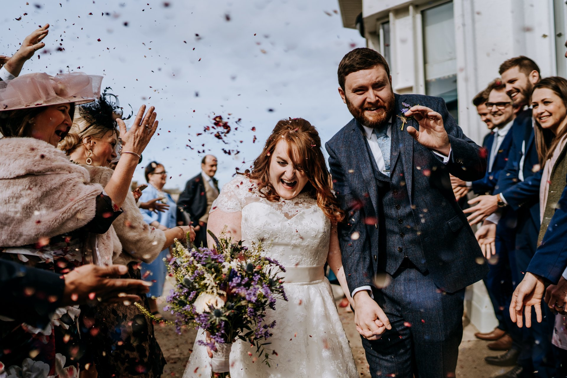 This image has an empty alt attribute; its file name is arcadia-portrush-wedding-photographer-265.jpg