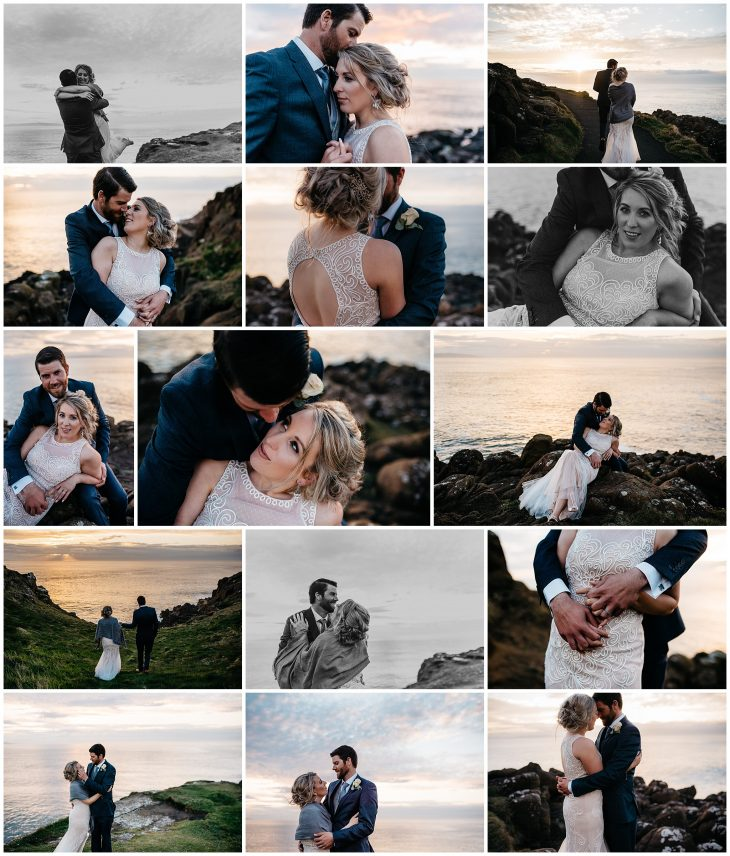 portrush elopement photographer northern ireland