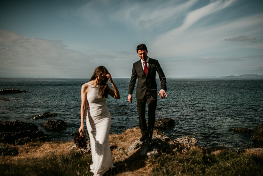 causeway coast elopement photography