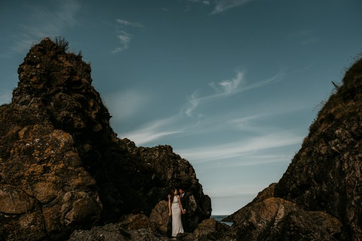 murlough bay elopement ballycastle ireland